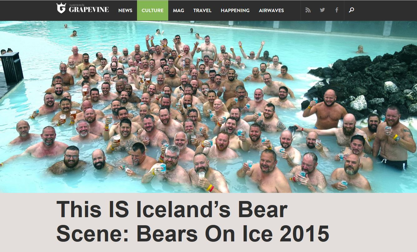 This IS Iceland's Bear Scene: Bears On Ice 2015